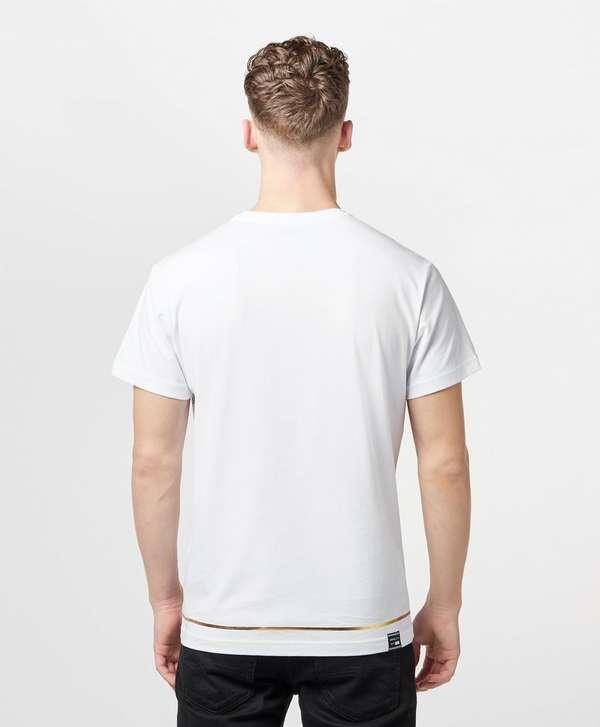 Versace Jeans Couture Cross Column Short Sleeve T-Shirt