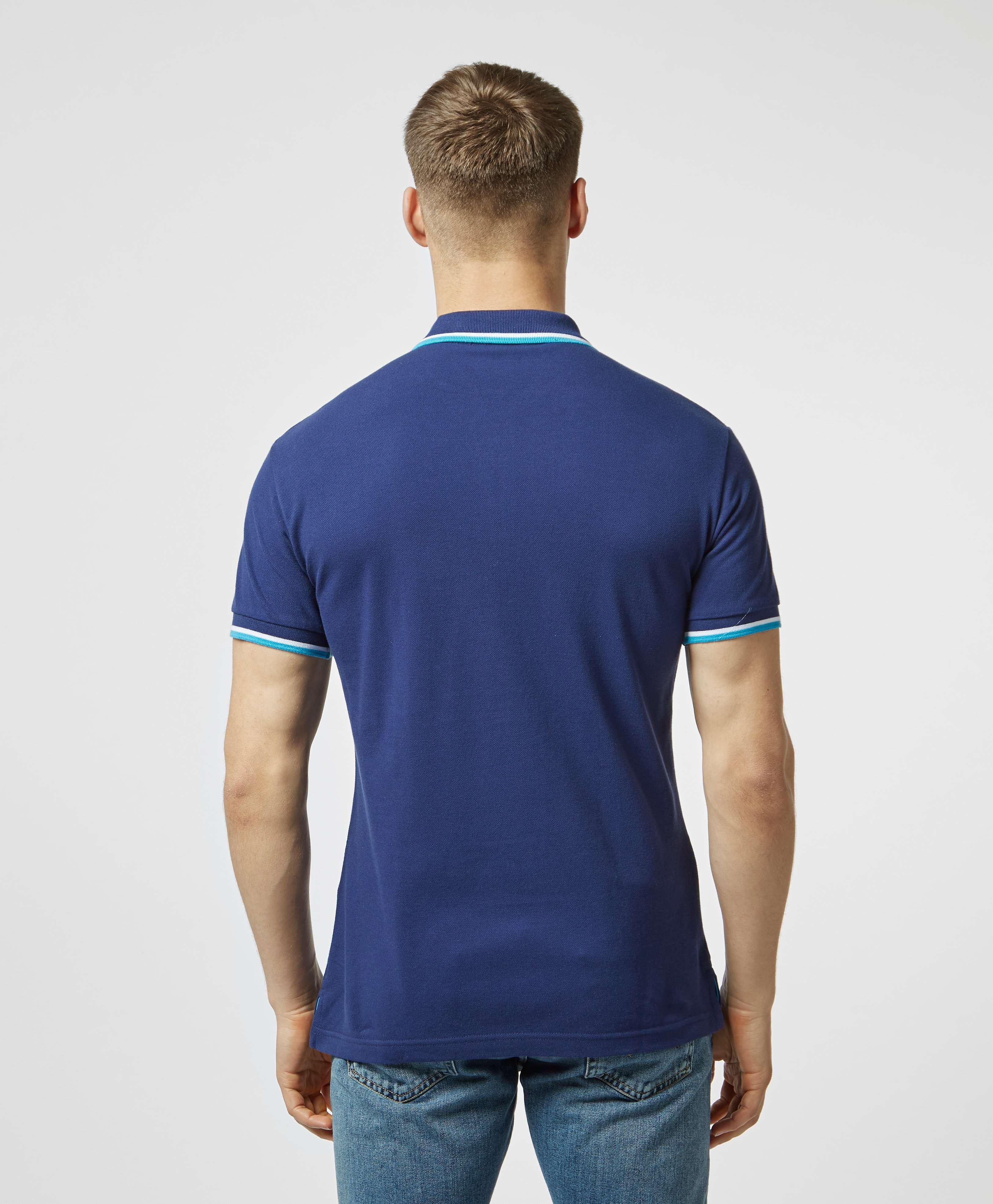 Versace Jeans Round Logo Short Sleeve Polo Shirt