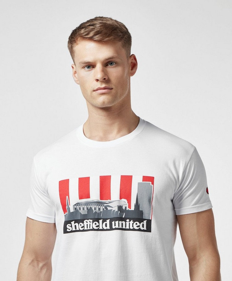 80s Casuals Sheffield United Short Sleeve T-Shirt