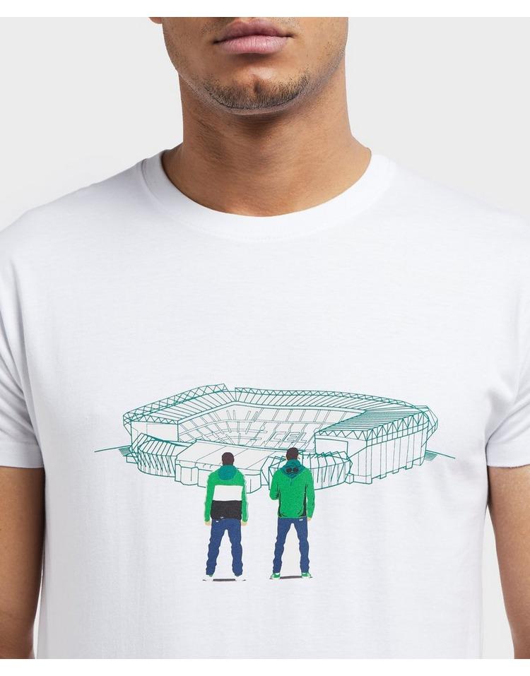 80s Casuals Celtic Stadium Short Sleeve T-Shirt