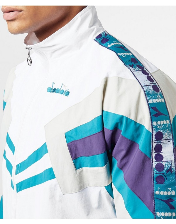 Diadora MVB Shell Half Zip Track Top - Online Exclusive