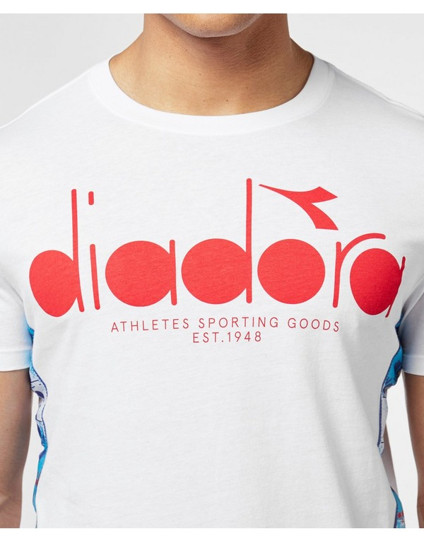 Diadora MVB Logo Short Sleeve T-Shirt - Online Exclusive