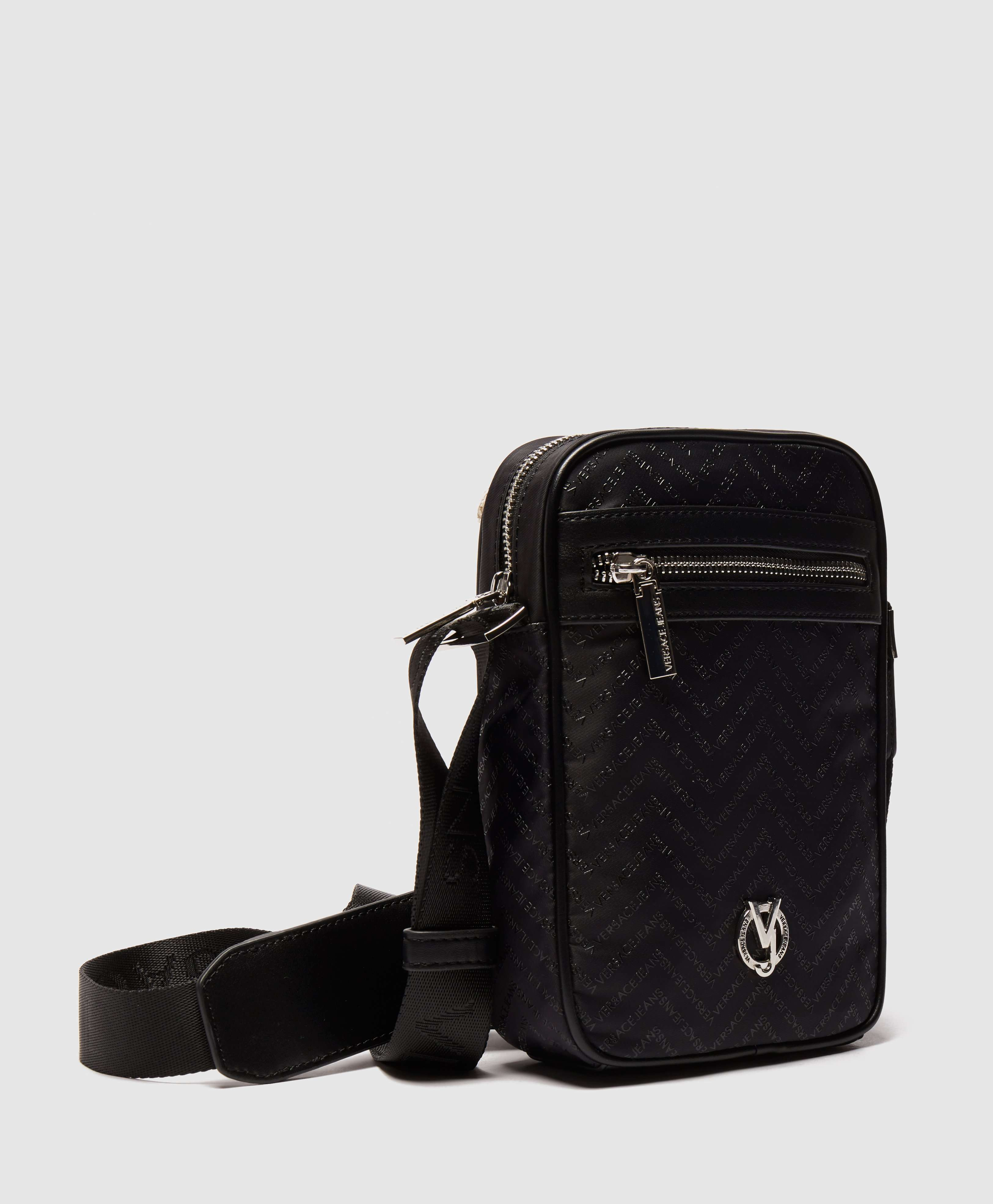 Versace Jeans Linea Chevron Small Item Bag