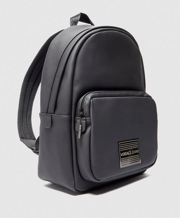 Versace Jeans Plaque Logo Backpack
