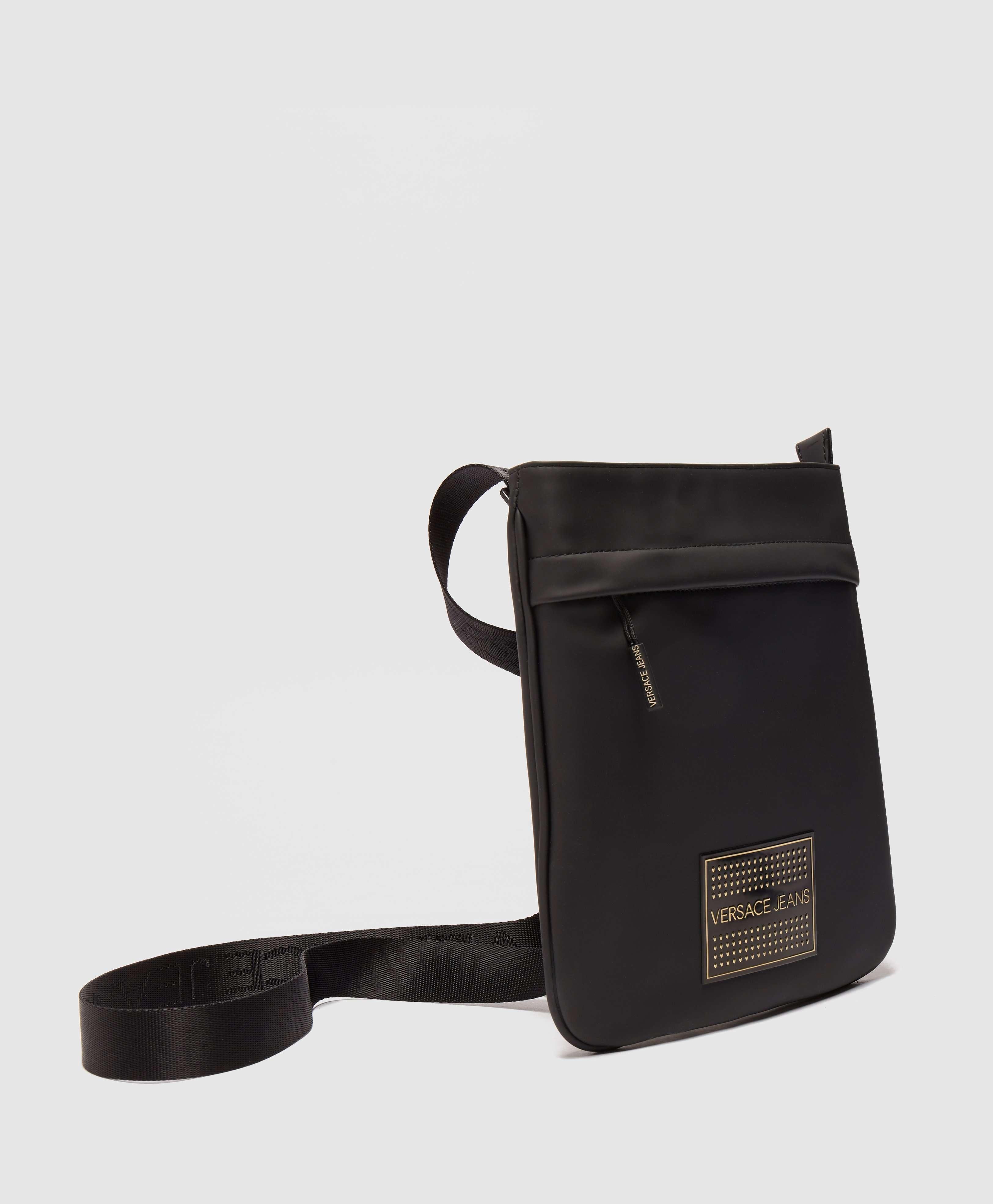 Versace Jeans Plaque Logo Small Item Bag