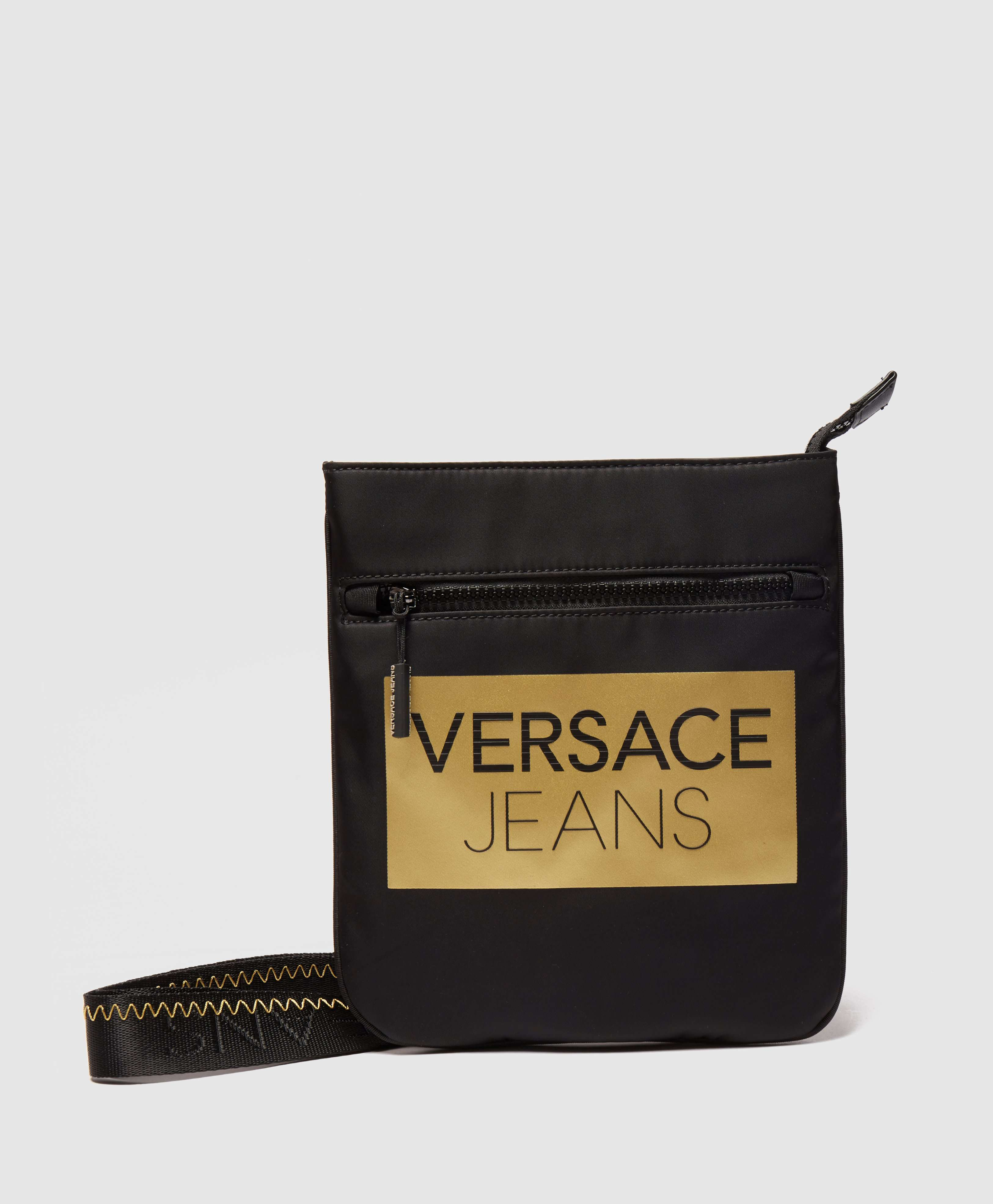 Versace Jeans Block Logo Small Item Bag