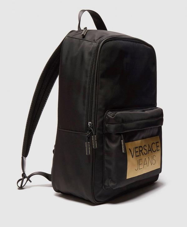 Versace Jeans Blok Logo Backpack