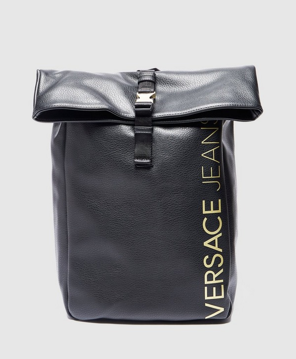 Versace Jeans Gold Logo Backpack