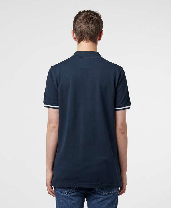 Tommy Hilfiger Tape Cuff Short Sleeve Polo Shirt