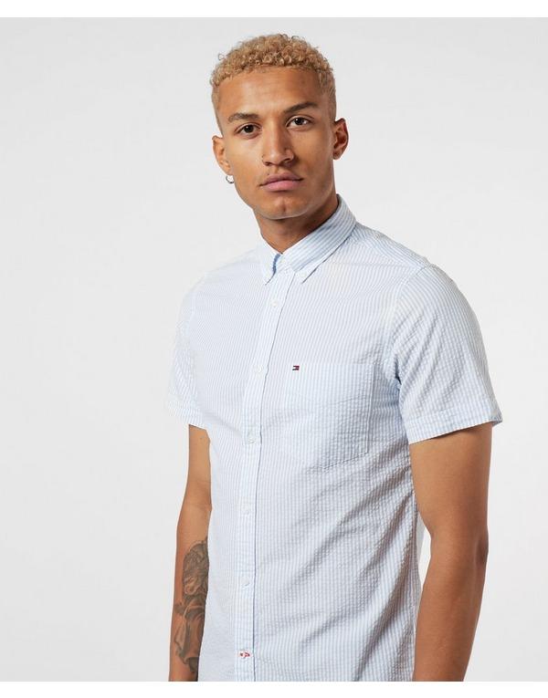 Tommy Hilfiger Seersucker Short Sleeve Shirt
