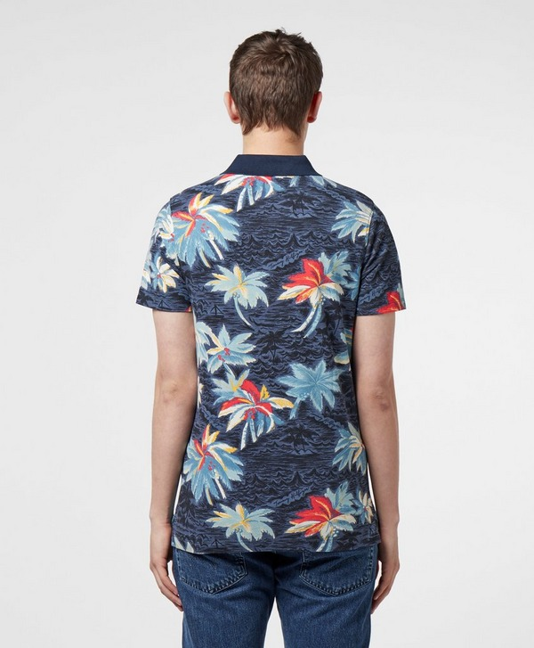 Tommy Hilfiger Floral Short Sleeve Polo Shirt