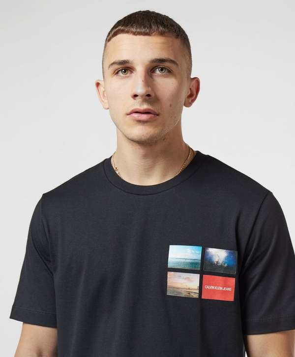 Calvin Klein Photo Logo Short Sleeve T-Shirt