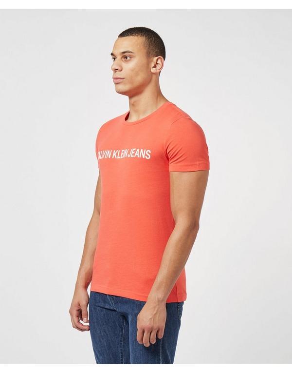 Calvin Klein Jeans Institutional Logo Short Sleeve T-Shirt