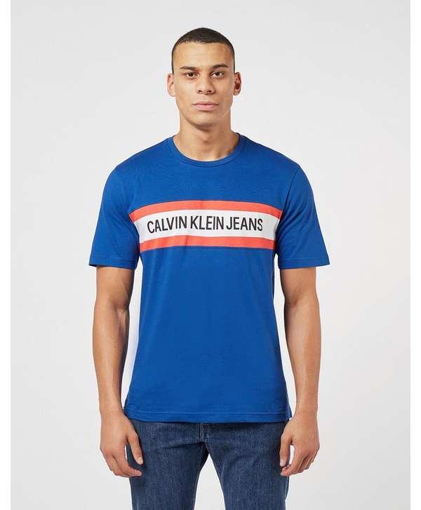 Calvin Klein Chest Stripe Short Sleeve T-Shirt