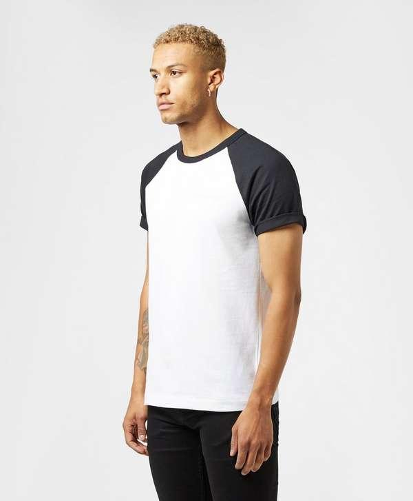 Calvin Klein Raglan Block Short Sleeve T-Shirt