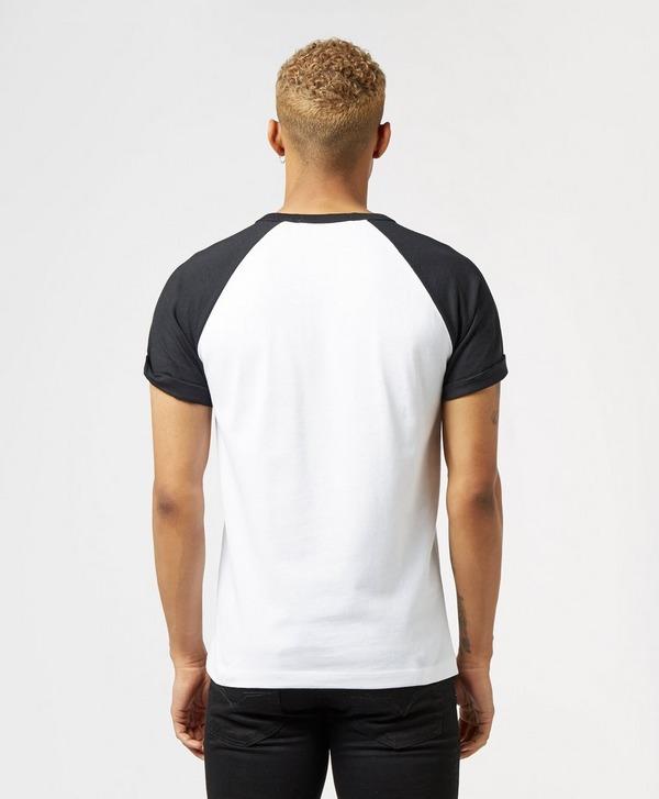 Calvin Klein Jeans Raglan Block Short Sleeve T-Shirt