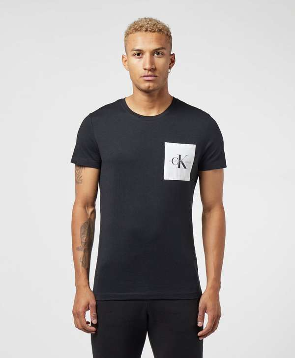 Calvin Klein Mono Pocket Short Sleeve T-Shirt