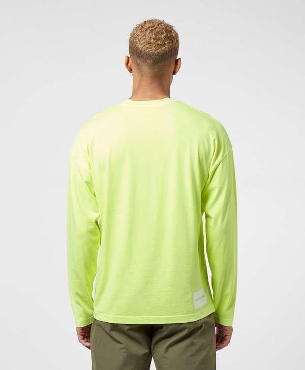 Calvin Klein Neon CK Pocket Long Sleeve T-Shirt