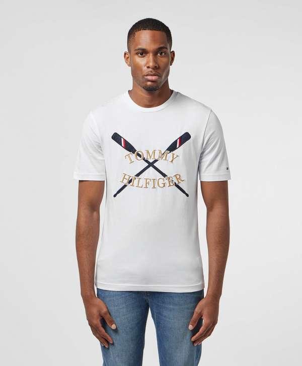 Tommy Hilfiger Oar Applique Short Sleeve T-Shirt