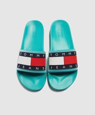 Tommy Jeans Logo Slides