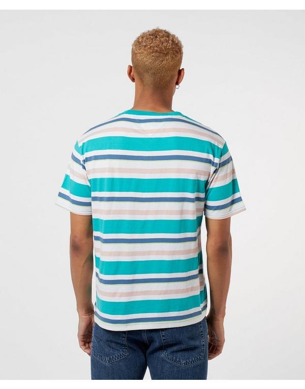 Tommy Jeans Multi Stripe Short Sleeve T-Shirt