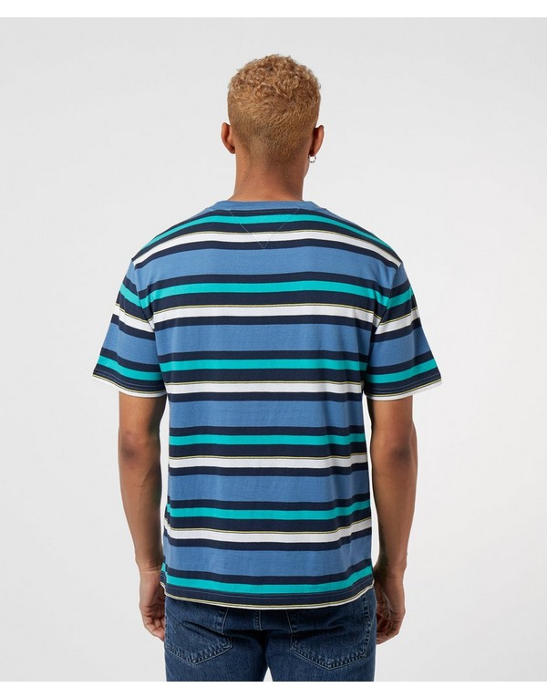 Tommy Jeans Multi Stripe Short Sleeve T-Shirt