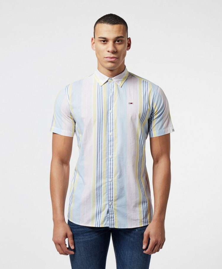 Tommy Jeans Vertical Stripe Short Sleeve Shirt