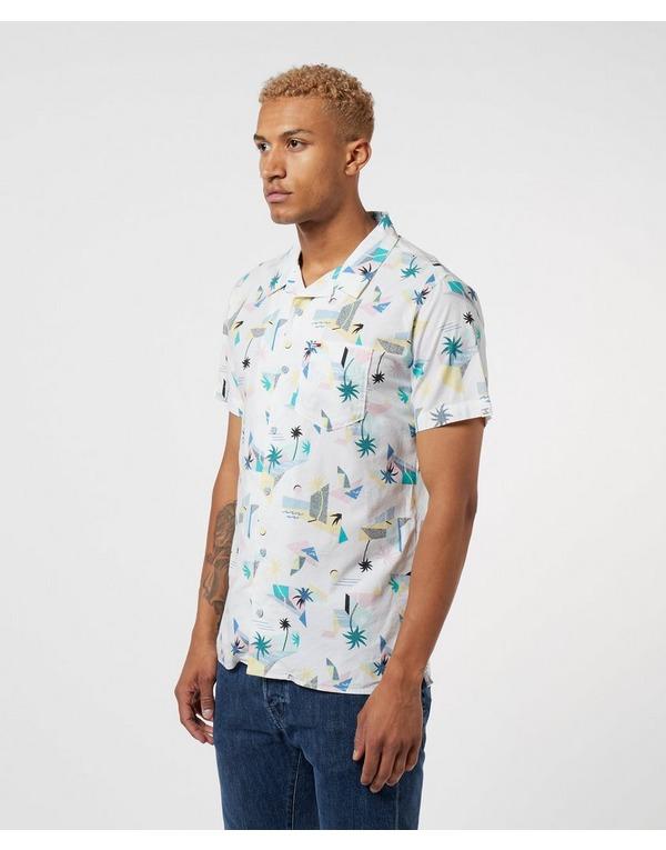 Tommy Jeans Reversible Short Sleeve Print Shirt