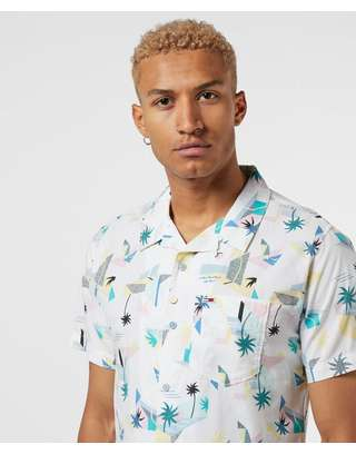 Tommy Jeans Reversible Short Sleeve Print Shirt