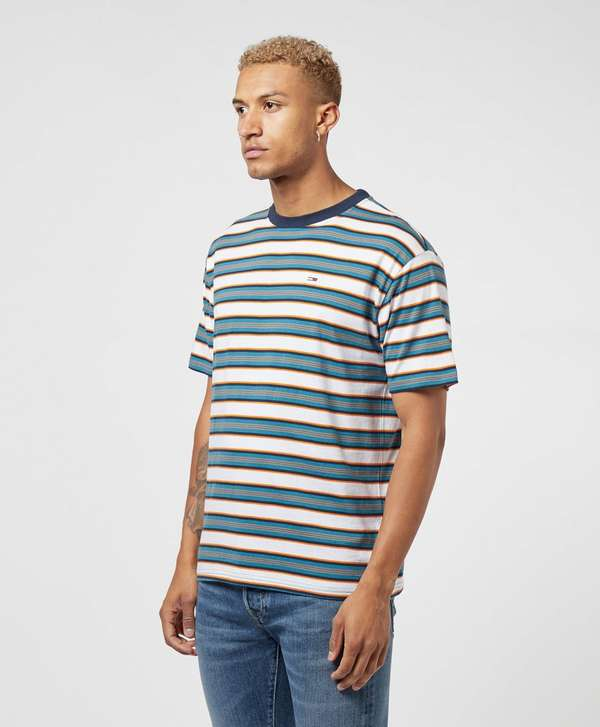 Tommy Jeans Retro Stripe Short Sleeve T-Shirt