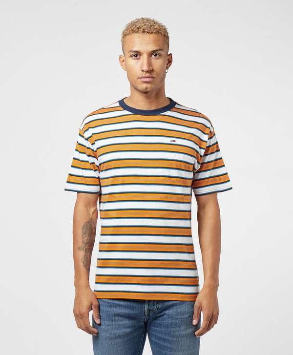 Tommy Jeans Retro Stripe Short Sleeve T-Shirt