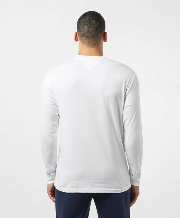 Tommy Jeans Outline Logo Long Sleeve T-Shirt