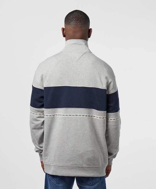 Tommy Jeans Tape Half Zip Sweatshirt