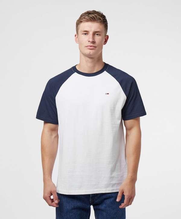 Tommy Jeans Raglan Short Sleeve T-Shirt