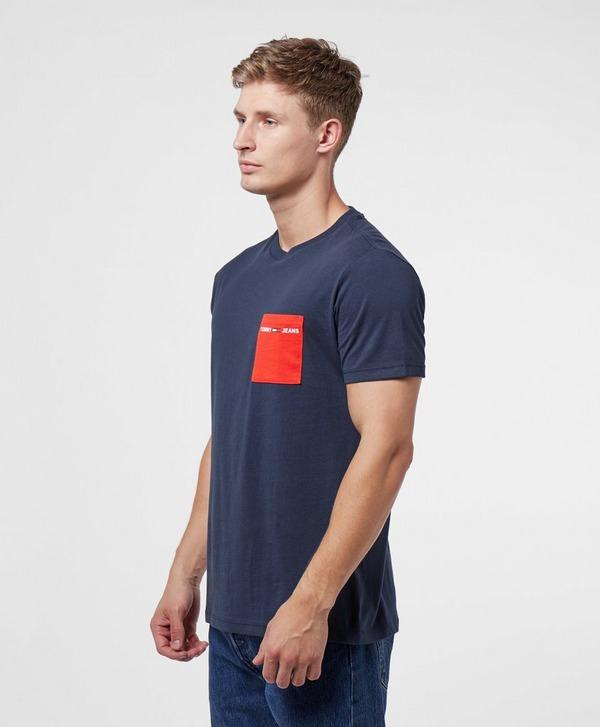 Tommy Jeans Contrast Pocket Short Sleeve T-Shirt