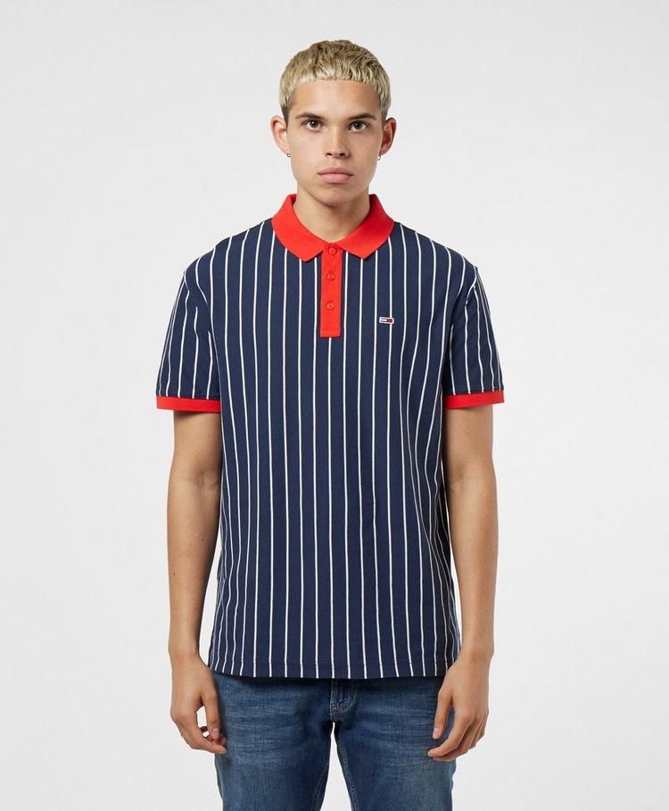 Tommy Jeans Retro Stripe Short Sleeve Polo Shirt