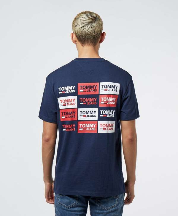 Tommy Jeans Back Logos Short Sleeve T-Shirt