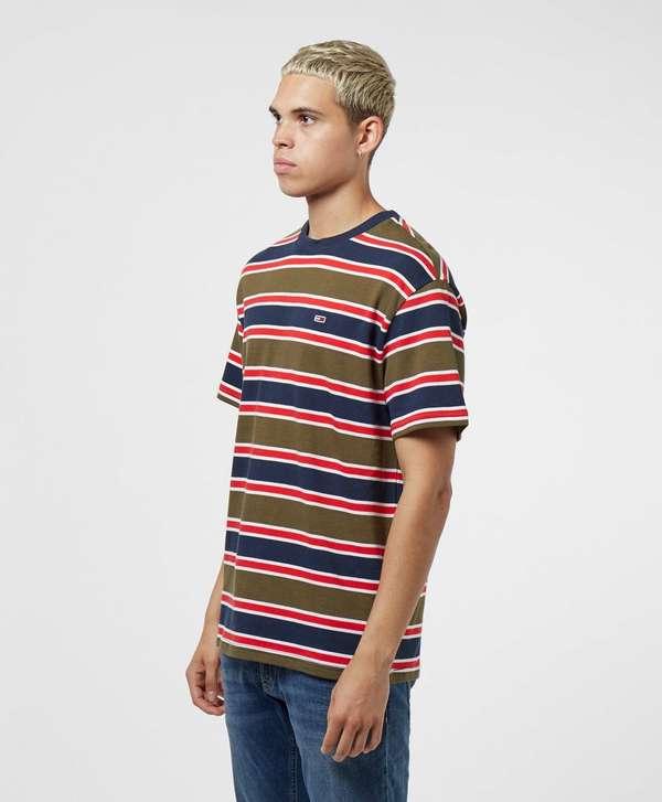 Tommy Jeans Bold Stripe Short Sleeve T-Shirt