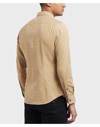 Pretty Green Griggs Long Sleeve Cord Shirt