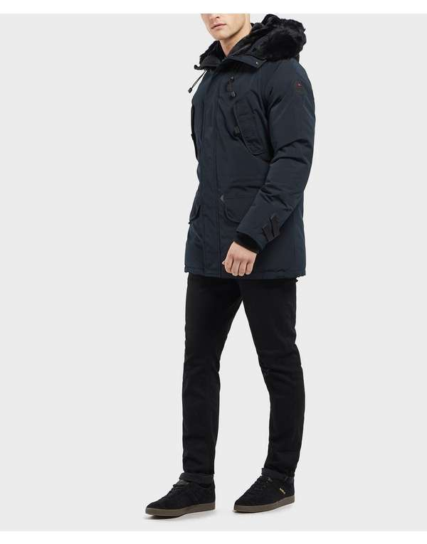ee816257b Helvetica Expedition Padded Parka Jacket | scotts Menswear