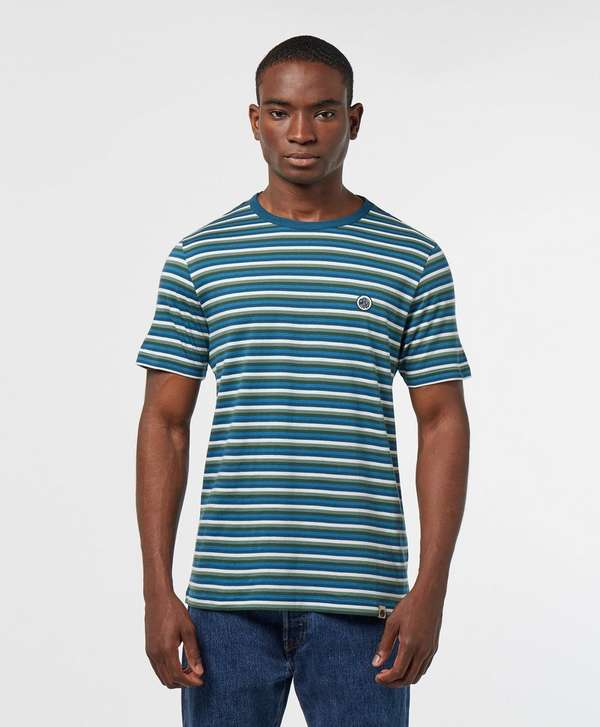 Pretty Green Gordon Feeder Short Sleeve Stripe T-Shirt