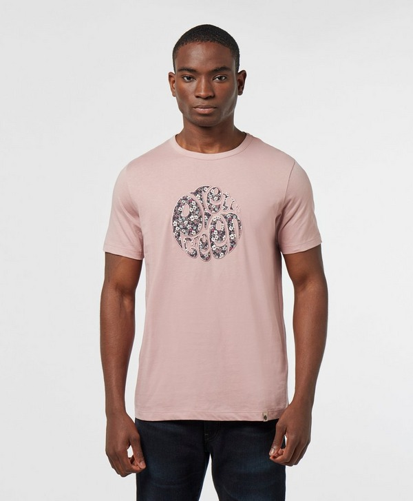 Pretty Green Barley Applique Short Sleeve T-Shirt