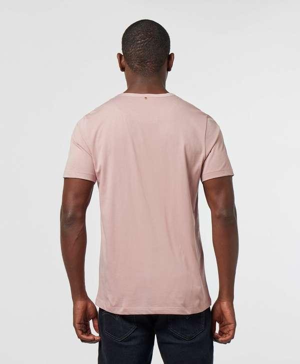 Pretty Green Barley Applique Short Sleeve T-Shirt
