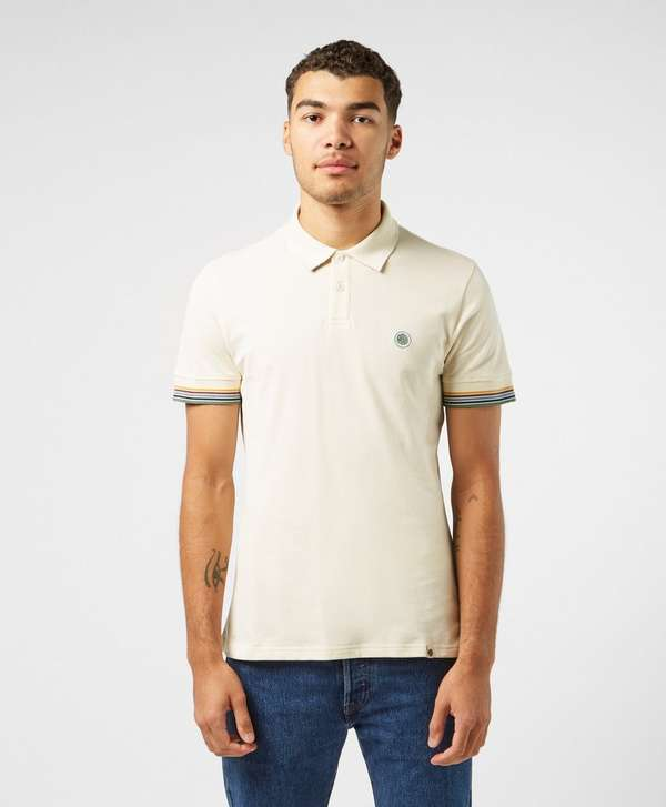 Pretty Green Eastman Short Sleeve Tipped Polo Shirt