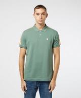 Pretty Green Park Stripe Short Sleeve Polo Shirt
