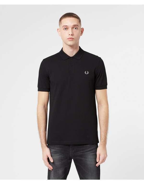 Fred Perry Plain Short Sleeve Polo Shirt