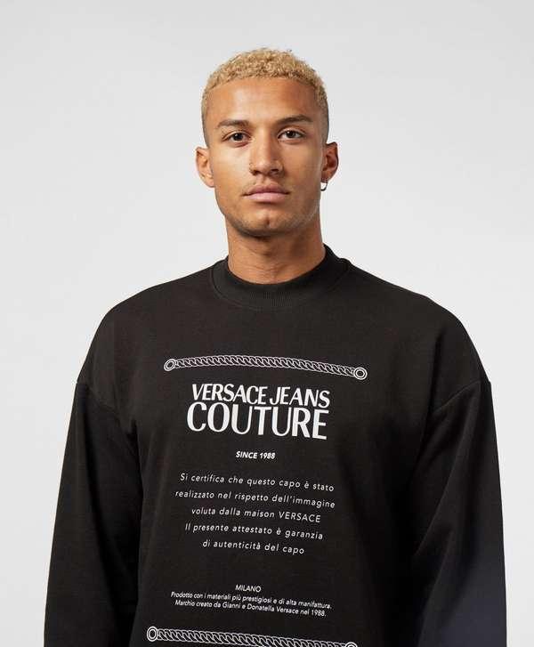 Versace Jeans Couture Label Sweatshirt