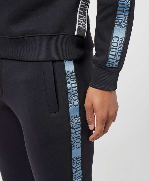 Versace Jeans Couture Tape Cuffed Fleece Pants