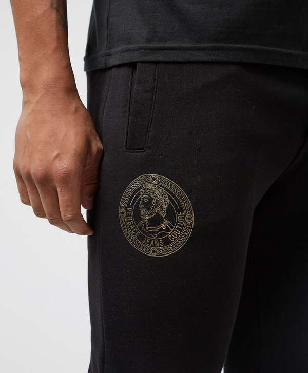 Versace Jeans Couture Medal Cuffed Fleece Pants