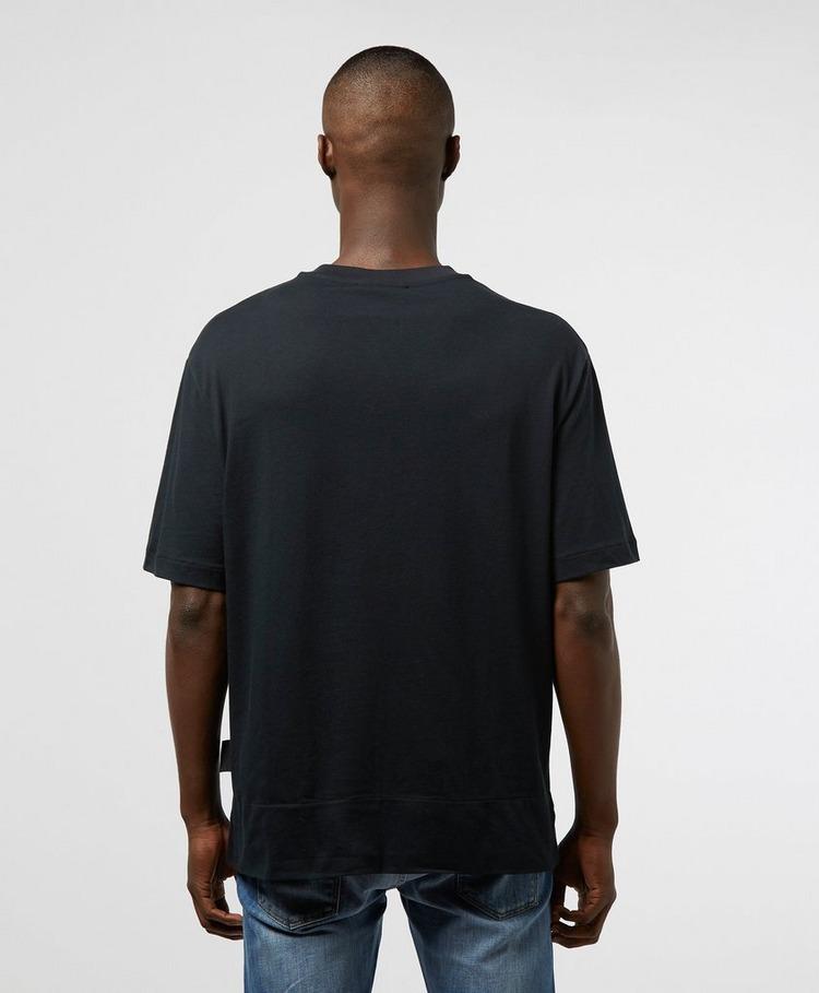 Versace Jeans Couture Block Flower Short Sleeve T-Shirt
